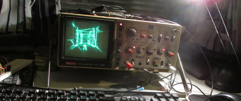 Oscilloscope Tennis For Two : Quake on an oscilloscope a technical report
