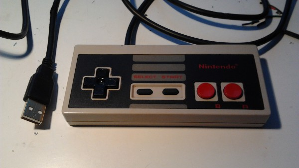A NES controller with USB! Full size