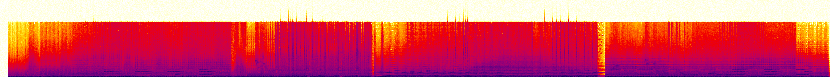 Audio spectrogram.